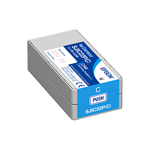 Epson ColorWorks C3500 Cyan Ink Cartridge